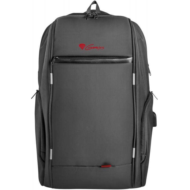 """Genesis Laptop Backpack Pallad 400 Usb Раница за Преносим  Компютър 15.6"""""""