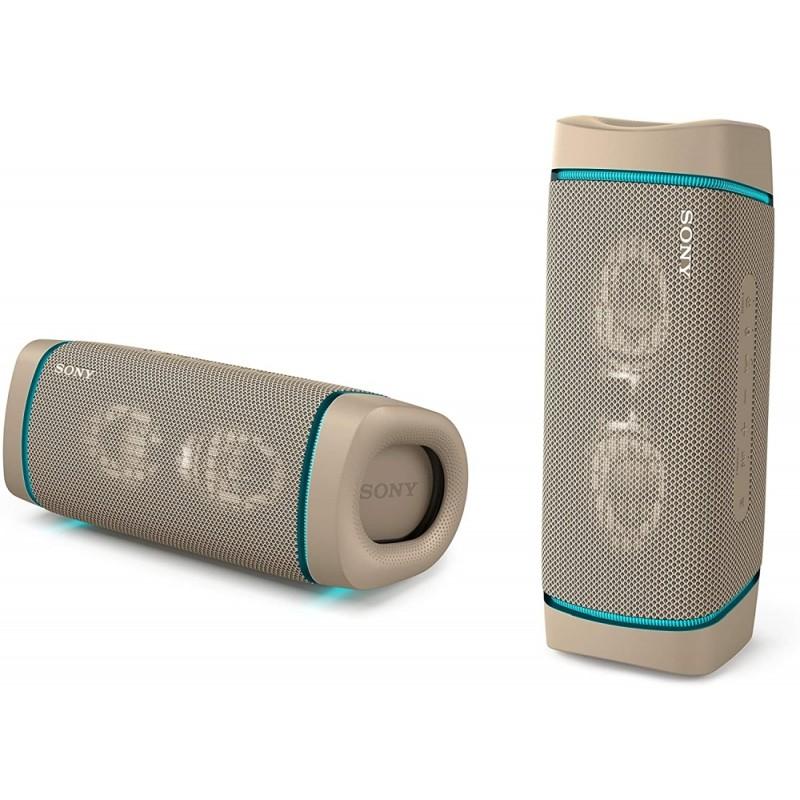 Sony SRS-XB33 Portable Bluetooth Speaker, taupe Тонколони