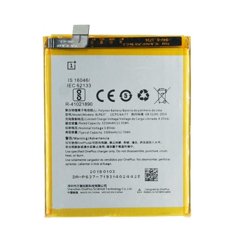 OnePlus BLP637 Оригинална Батерия за OnePlus 5T/5