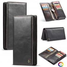 """Универсален Кожен Wallet Калъф CASEME за мобилни телефони с размери  4""""- 6.5"""""""