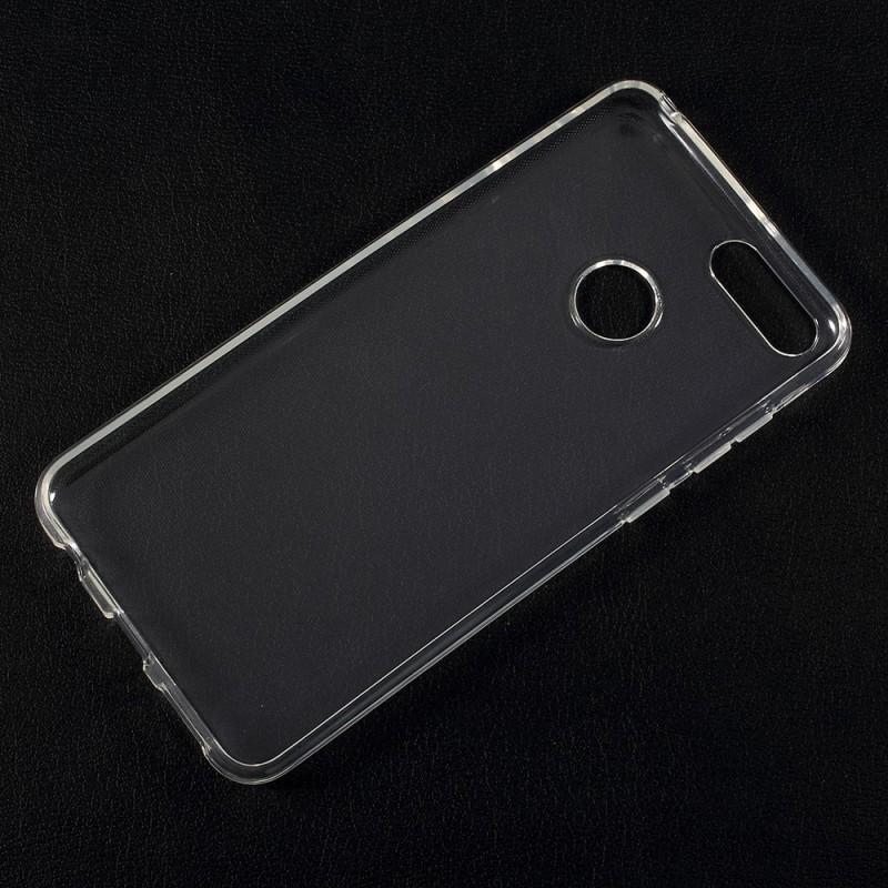 Huawei Honor 7X  Силиконов Калъф TPU и Протектор
