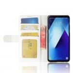 Samsung Galaxy A8 Plus (2018) Magnetic Wallet Кожен Калъф и Скрийн Протектор
