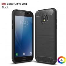 Samsung Galaxy J2 Pro 2018  Carbon Fiber Калъф и Протектор