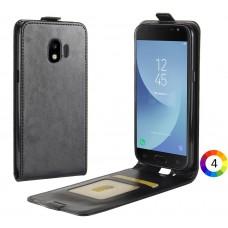 Samsung Galaxy J2 Pro 2018 Flip3 Кожен Калъф и Скрийн Протектор
