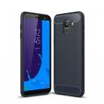 Samsung Galaxy J6 (2018)  Удароустойчив Carbon Fiber Калъф и Протектор