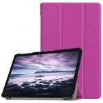 Samsung Galaxy Tab A 10.5 (2018) T590 T595 Кожен Калъф и Протектор