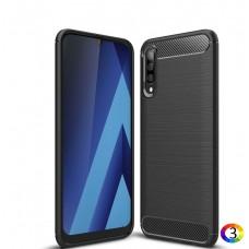 Samsung Galaxy A50/A50s/A30s Удароустойчив Carbon Fiber Калъф и Протектор
