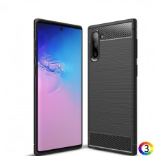 Samsung Galaxy Note 10/ Note10 Удароустойчив  Carbon Fiber Калъф и Протектор