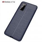Samsung Galaxy S20 Удароустойчив Litchi Skin Калъф и Протектор