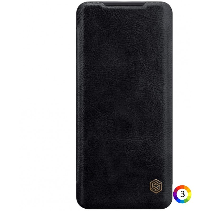 Samsung Galaxy S20 Nillkin Кожен Калъф и Протектор