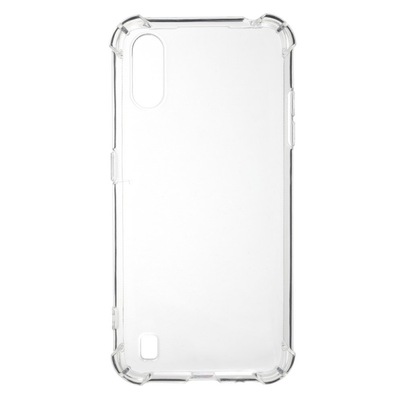 Samsung Galaxy A01 Силиконов Калъф TPU и Протектор