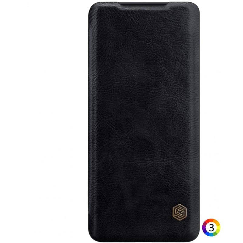 Samsung Galaxy S20 Ultra Nillkin Кожен Калъф и Протектор