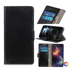 Sony Xperia 10 II Magnetic Wallet Кожен Калъф и Протектор