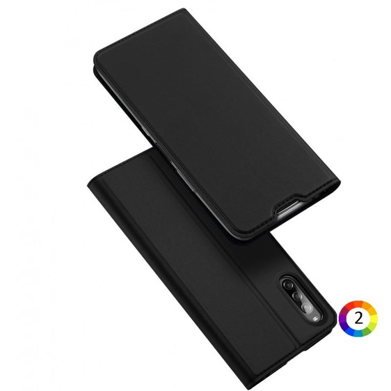 Sony Xperia L4 DUX DUCIS Кожен Калъф и Протектор