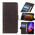 LG K40S Wallet Кожен Калъф и Проектор