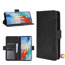 LG Wing 5G Wallet Калъф и Протектор