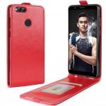 Huawei Honor 7X  Flip3  Кожен Калъф и Скрийн Протектор