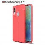 Huawei Honor 10 Lite / Huawei P Smart (2019) Удароустойчив Litchi Skin Калъф и Протектор
