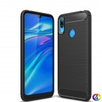Huawei Y7 (2019) Carbon Fiber Калъф и Протектор