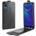 Huawei Y6 (2019) Flip3 Кожен Калъф и Скрийн Протектор