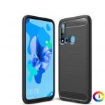 Huawei P20 lite (2019) / Nova 5i Удароустойчив Carbon Fiber Калъф и Протектор