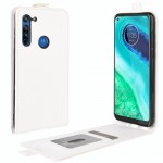 Motorola Moto G8 Flip3 Кожен Калъф и Протектор