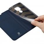Motorola Moto G9 Play/Moto E7 Plus DUX DUCIS Кожен Калъф и Протектор