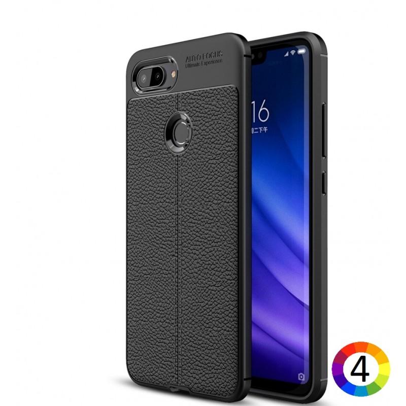 Xiaomi Mi 8 Lite / Mi 8 Youth (Mi 8X)  Удароустойчив Litchi Skin Калъф и Протектор