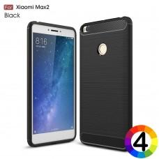 Xiaomi Mi Max 2 Удароустойчив Carbon Fiber Калъф и Протектор