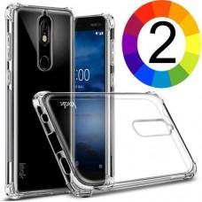 Nokia 7 IMAK Силиконов Калъф и Протектор
