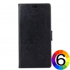 Nokia 7 Magnetic Wallet Кожен Калъф и Скрийн Протектор