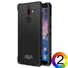 Nokia 7 plus IMAK Силиконов Калъф и Протектор