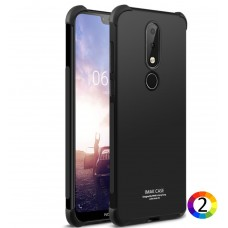 Nokia 7.1 IMAK Силиконов Калъф и Протектор