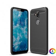 Nokia 8.1 / X7 / 8 2018  Carbon Fiber Калъф и Протектор