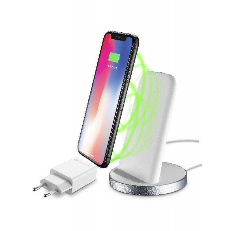 Cellularline ( 4934 ) Безжично зарядно-стойка за iPhone, 220V