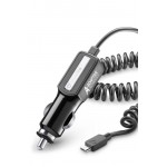 Cellular Line Adaptive 12/24V micro USB Зарядно за Кола