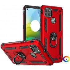 Motorola Moto G9 Power Удароустойчив Ring Holder Калъф и Протектор