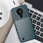 Nokia 1.4 Удароустойчив Twill Texture Калъф и Протектор