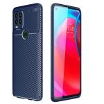 Motorola Moto G Stylus 2021 5G Удароустойчив Carbon Fiber Калъф и Протектор