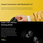 Realme Buds Q Bluetooth 5.0 IPX4 Waterproof TWS True Wireless Stereo Bluetooth Слушалки