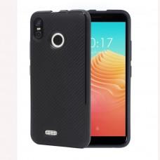 Ulefone S9 Pro Удароустойчив Carbon Fiber Калъф и Протектор