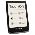 PocketBook Touch HD 3, Metallic Grey Четец на Е-книги
