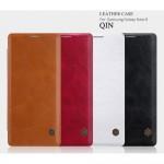 Samsung Galaxy Note 8 SM-N950 Nillkin Кожен Калъф и Протектор