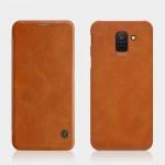 Samsung Galaxy J6 (2018) Nillkin Кожен Калъф и Протектор