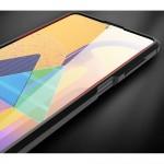 Samsung Galaxy M51 Удароустойчив Litchi Skin Калъф и Протектор