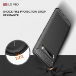 LG V60 Carbon Fiber Калъф и Протектор