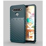 LG K51S/K41S Удароустойчив Twill Texture Калъф и Протектор