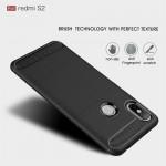 Xiaomi Redmi S2 / Y2 Удароустойчив Carbon Fiber Калъф и Протектор