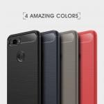 Xiaomi Mi 8 Lite / Xiaomi Mi 8 Youth (Mi 8X) Удароустойчив Carbon Fiber Калъф и Протектор