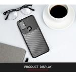 OnePlus Nord N10 5G Удароустойчив Twill Texture Калъф и Протектор